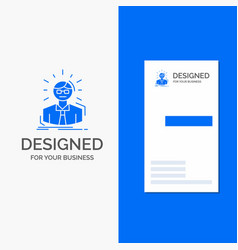 business logo for manager employee doctor person vector image