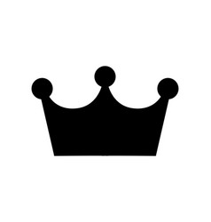 Crown icon isolated on white eps 10 vector