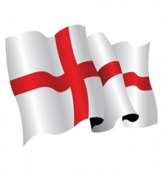 English flag vector image