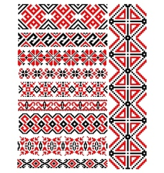Ethnic vintage patterns and ornaments vector image