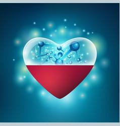 Heart pil vector