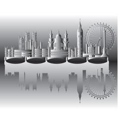 London city gradient 2 vector