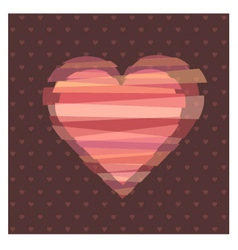Loves heart vector image