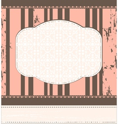 Vintage template vector