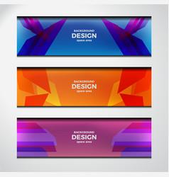 web header design vector image