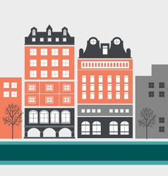 House and building graphics vector image