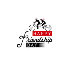 international friendship day vector image vector image