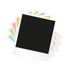 photo frame collage vector image