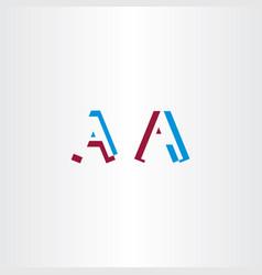 A logo logotype letter icon design vector