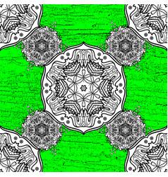 hand drawn decorative frame album cover vector image