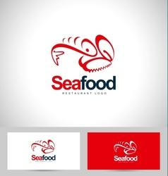 Seafood Restaurant Logo vector image