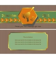 The invitation 9 vector