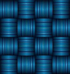 stripe weave vector image vector image