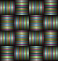 candy stripe weave vector image vector image