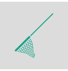 Icon of fishing net vector