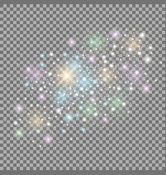 Abstract galaxy colorful vector