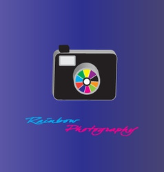 camera photography vector image