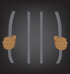 escape from prison stupid concept vector image