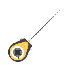 fishing reel vector image