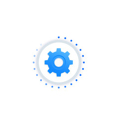 Process icon vector