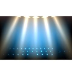 The Scene Lighting vector image