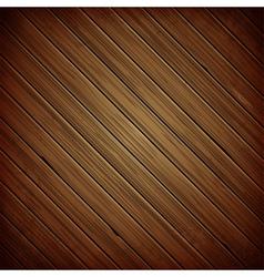 Wooden plank dark background vector image