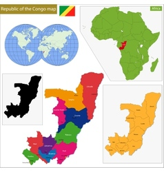 Republic of the Congo vector image