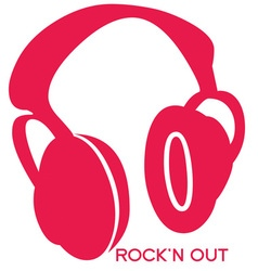 Rock n Out vector image vector image