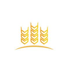 Agriculture logo template icon design vector