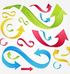 Arrow Design Set vector image