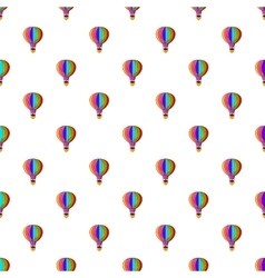 Balloon pattern cartoon style vector