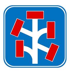 Dead End sign vector