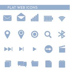 flat web icons 1244244 vector image