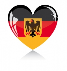 Germany flag vector image vector image
