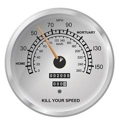 Kill your speed vector