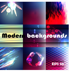 modern abstract background space background vector image