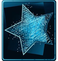 Christmas star vector