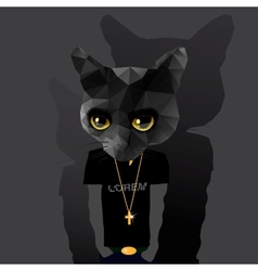 Cute fashion Hipster Animal vector image vector image