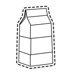 milk carton icon image vector image vector image