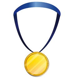 A medal vector image