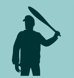 aggressive and violent behavior vector image