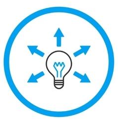 Idea Circled Icon vector image