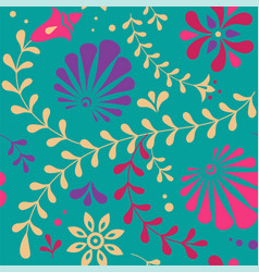 Indian seamless pattern background vector