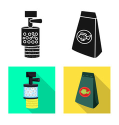 Isolated object natural and hoblogo vector