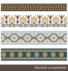 Old greek ornament vector