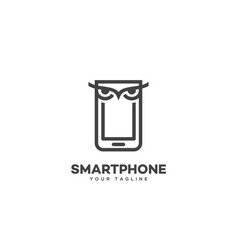 Smart phone logo vector