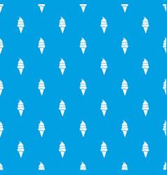 vanilla ice cream pattern seamless blue vector image