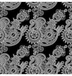 ornate vintage seamless pattern vector image