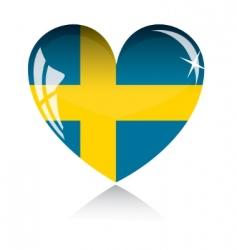 Sweden flag vector image vector image