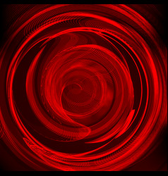 abstract background-red colored abstract twisted vector image